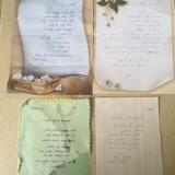אנה און - מכתבי תודה