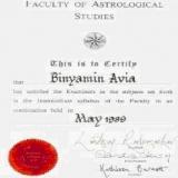 אביה בנימין - המרכז לאסטרולוגיה יישומית והעצמה אישית