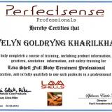 אוולין גולדרינג - מטפלת הוליסטית רב תחומית בעמק יזרעאל. תעודות.